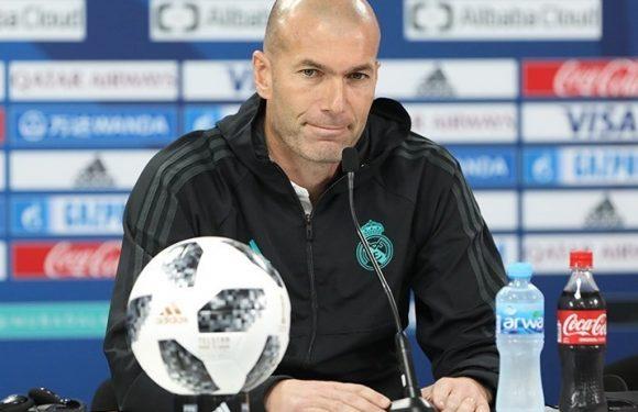 Clamoroso Zinedine Zidane – Lascio il Real Madrid, è ora di cambiare