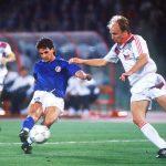 Roby Baggio vs Cecoslovacchia Italia 90