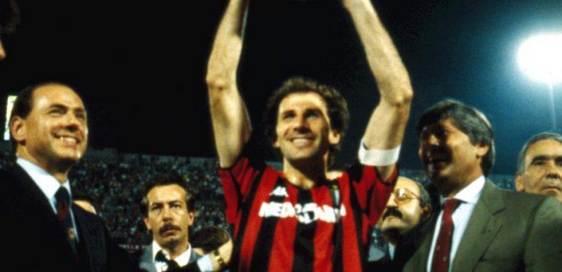 Franco Baresi – 21 anni fa l'addio al calcio del capitano rossonero: 6 per sempre