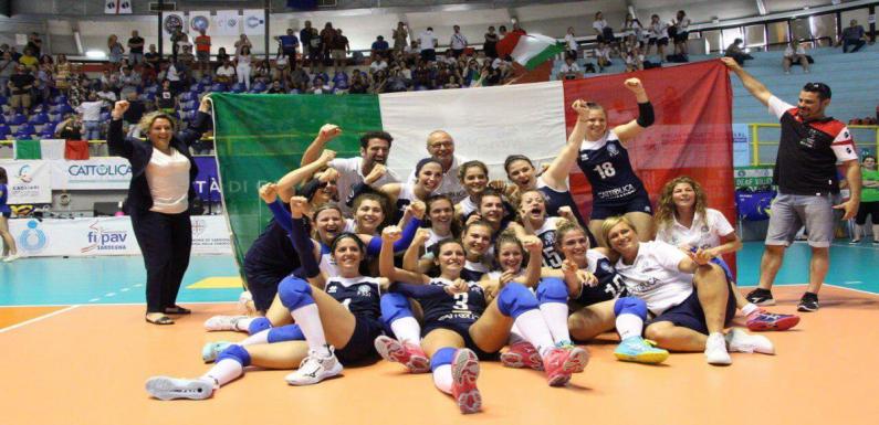 L'ItalVolley femminile sorde è campione d'Europa – Il loro inno è da brividi