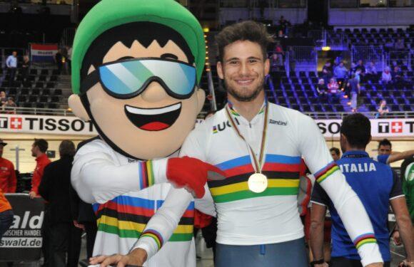 Filippo Ganna – Un treno iridato al Giro d'Italia, divenuto Maglia Rosa